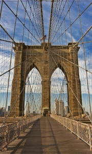 Fototapeta MS-2-0005 Brooklyn Bridge flizelinowa Dimex