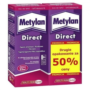Klej do tapet Direct Duo-Pack 2x200g Metylan
